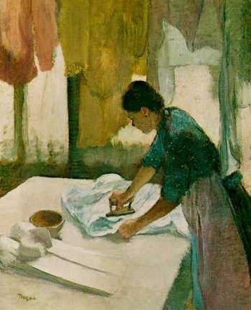 Degas-femme-repassant