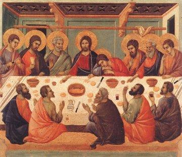 Duccio-la Cène
