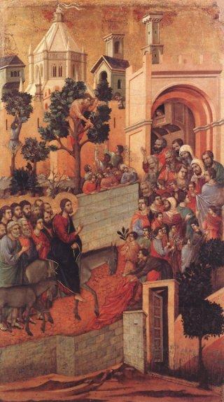 Duccio-entree-du-Christ-a-Jerusalem