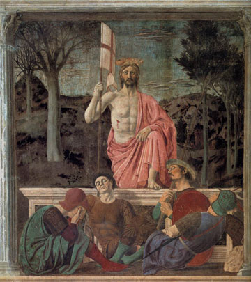 Piero della Francesca-resurrection