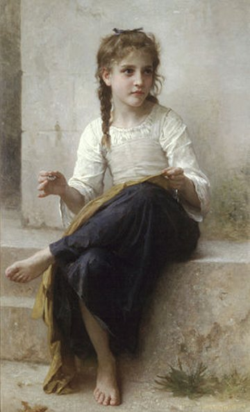 William-Adolphe_Bouguereau_la-couseuse