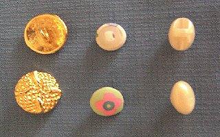 boutons avec anneau
