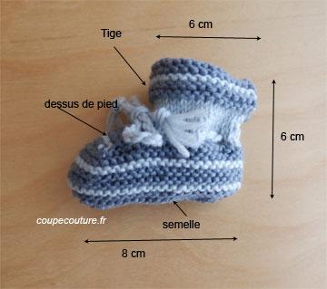 comment tricoter des chaussons sans couture