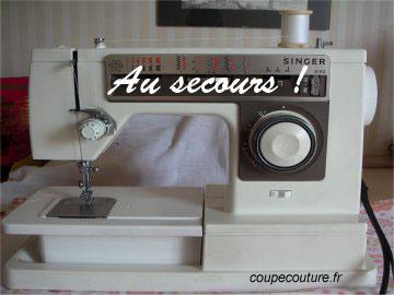 Coupe couture machine coudre que faire si - Que faire avec une vieille baignoire ...